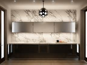 Wall Kitchen Design Marble Kitchen Wall Interior Design Ideas