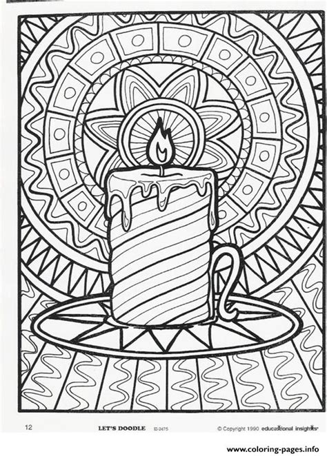christmas tree with candles coloring page christmas candle coloring page best toys collection