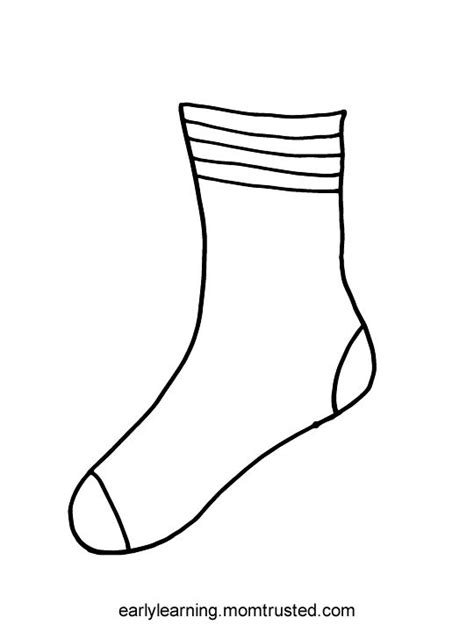 socks for fox printable preschool activities and