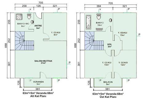 villa planlar ornekleri servilla elik villa elik ev iki katlı prefabrik ev planları