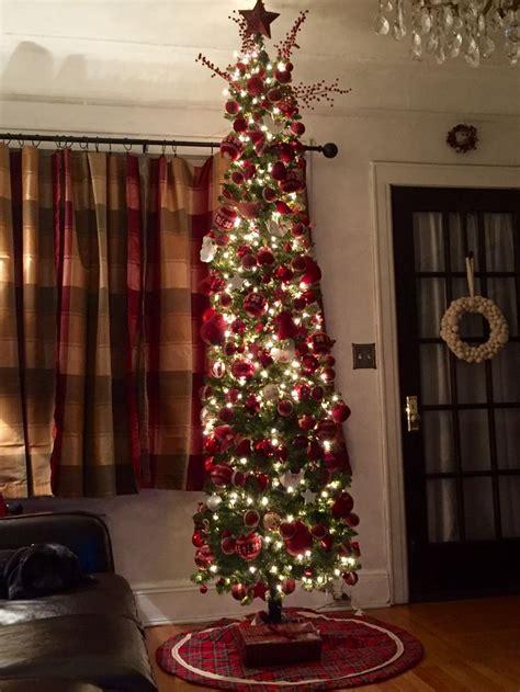best 25 skinny christmas tree ideas on pinterest white