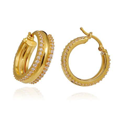 light weight jewellery 22 kt yellow gold hoop earring grt jewellers