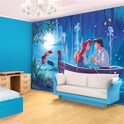 Cinderella Wall Mural ariel the little mermaid disney character giant wall mural