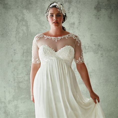 plus size wedding gowns david s bridal plus size wedding dresses popsugar fashion