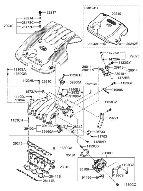 02 HYUNDAI SANTA FE PROBLEMS ENGINE DIAGRAM - Auto
