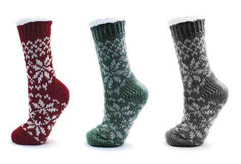 socks uk womens fur lined slipper socks ankle boots booties size uk 4 7 ebay