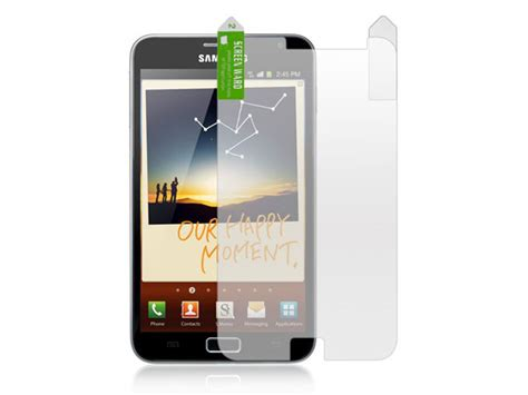 Dus Samsung Galaxy Note 1 N7000 matte screenprotector samsung galaxy note n7000
