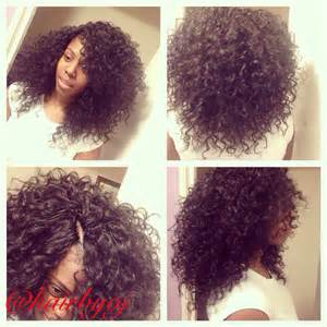 versatile crochet hairstyles chest length curly crochet braids with versatile side and