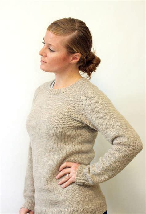 knit pattern top down sweater knitting pattern ladies classic raglan pullover top