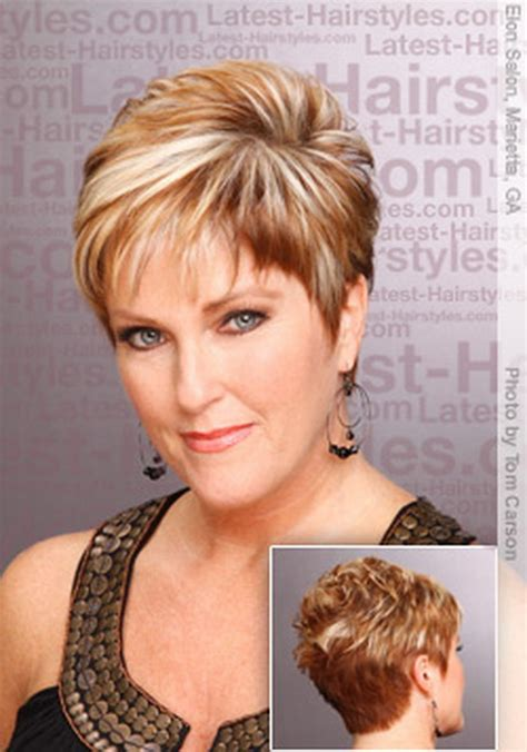 short hair styles for brides over 50 short layered hairstyles for women over 50