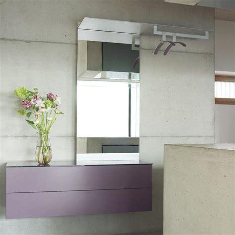 Foyer Shelf by Entryway Mirror With Hooks And Shelf Frame Stabbedinback