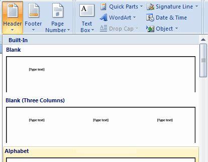 Cara Membuat Kop Surat Dengan Header Footer | cara membuat kop surat dengan ms word ada gus indra