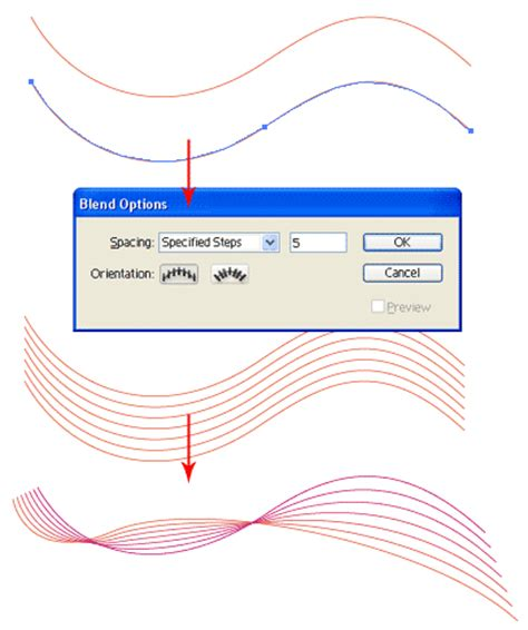 tutorial illustrator lines illustrator trick 9 colorful waves illustrator