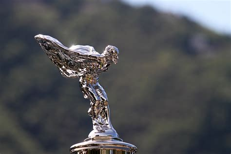 rolls royce hood ornament 19 hood ornaments that turn luxury cars into masterpieces