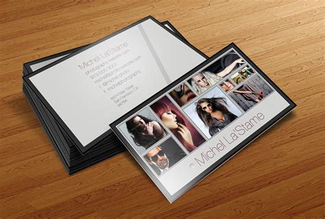 photography business card templates cursive q designs