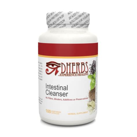 D Herb Detox Cleanse by Intestinal Cleanser Dherbs Herbal Remedies