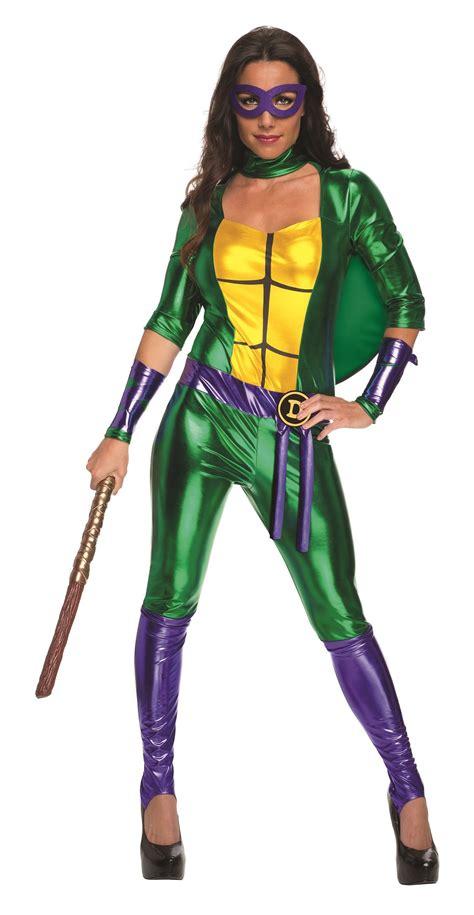 sexy ninja turtle halloween costume adult donatello women ninja turtle bodysuit costume 41
