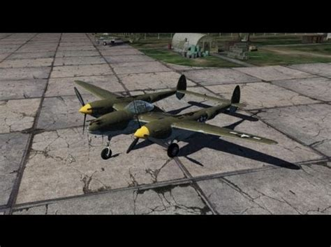 war thunder plane analysis p 38g lightning