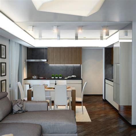 wohnzimmer quadratmeter einrichtungsideen f 252 r wohnzimmer mit offener k 252 che