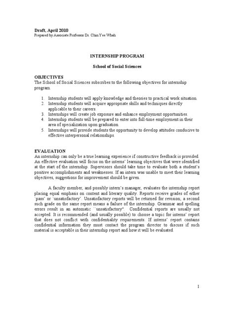 Fsg Report Writing Guidelines by Internship Report Writing Format Internship Question