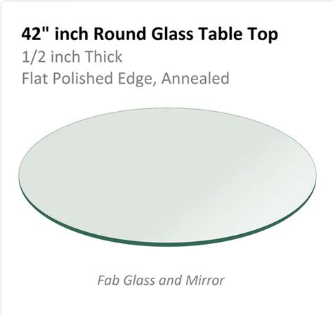 42 inch table top beautify your interiors with 42 inch glass table top
