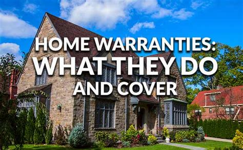 home warranties what they do and what they cover