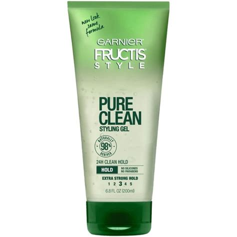 Garnier Fructis Hair Style Gel For by Garnier 174 Fructis 174 Style Clean Strong Hold