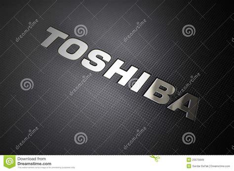 toshiba laptop logo editorial stock image image