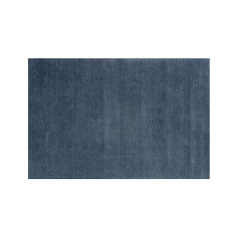 10 x 14 crate and barrel rugs baxter blue wool 10 x14 rug crate and barrel
