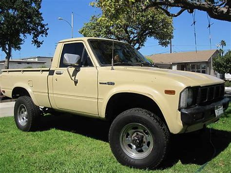 1980 Toyota Tacoma Sell Used Toyota Up 4x4 Bed Tacoma 20r 22r 22re