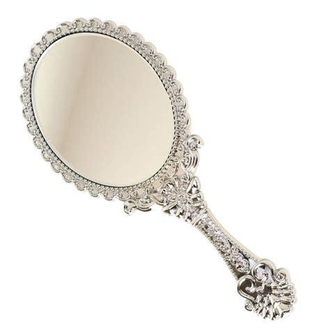 Held Vanity Mirrors by Vintage Style Princess Gift Mini Vanity