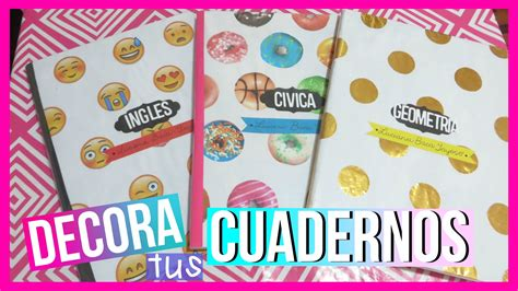 decorados tumblr decora tus cuadernos tumblr emojis donas polka dots