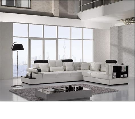 dreamfurniture divani casa t117 modern leather