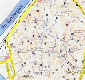 Seville Spain Map by Seville Map Pictures To Pin On Pinterest Pinsdaddy