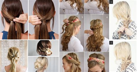 next day hair styles cute lazy hairstyles for school hairstyles
