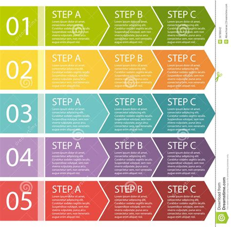 interior design process steps flat design process arrows boxes set stock vector image 38786642