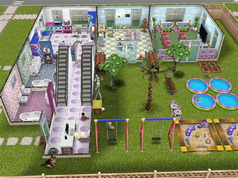 sims freeplay i like the house layout as an l shape