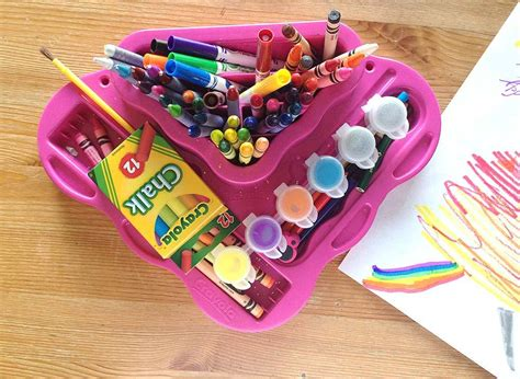 crayola coloring kit best crafty toys for 7 year olds smiling colors