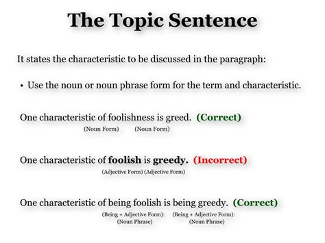 Greed Definition Essay by Definition Topic Sentence Explanation Thinglink