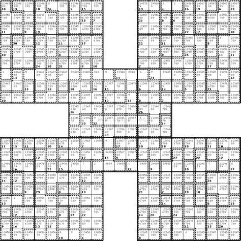 printable killer sudoku easy introducing killer samurai sudoku