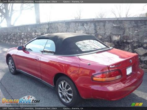 1995 Toyota Celica Convertible 1995 Toyota Celica Gt Convertible Renaissance Black