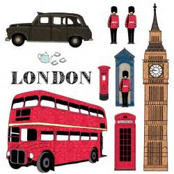 London Wall Sticker London Wall Stickers Wall Glamour