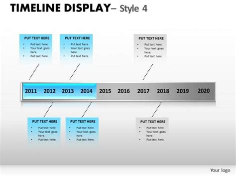 editable timeline template free timeline chart powerpoint template images