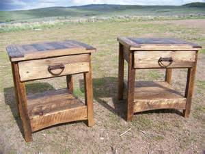Rustic Side Table Rustic End Tables Wyoutlawfurniture Co Outlaw Furniture