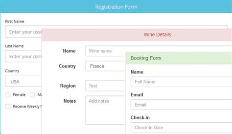 Bootstrap Newbie Help Needed For A Form Layout Html dmxzone bootstrap 3 forms designer extensions dmxzone