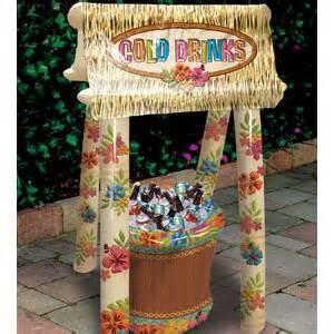 luau outdoor decor outdoor decorations