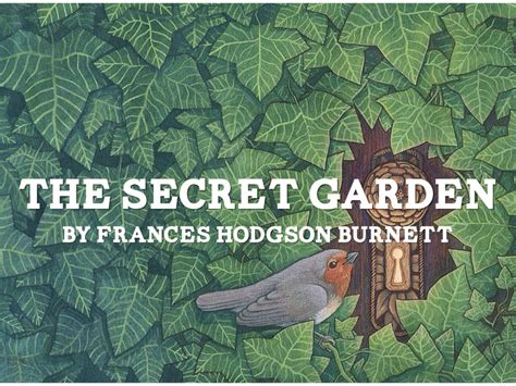 The Secret Garden Sparknotes by The Secret Garden By Dar