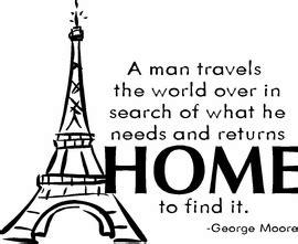 returning home quotes quotesgram