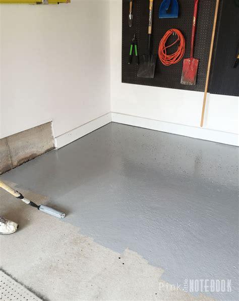 Garage Floor Paint Rock Solid Diy Garage Floor Tutorial Rocksolid Polycuramine Pink