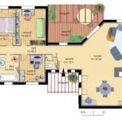 plan 4 chambres plain pied gratuit modele plan